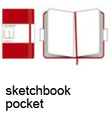 Moleskine. Sketch-Book Red